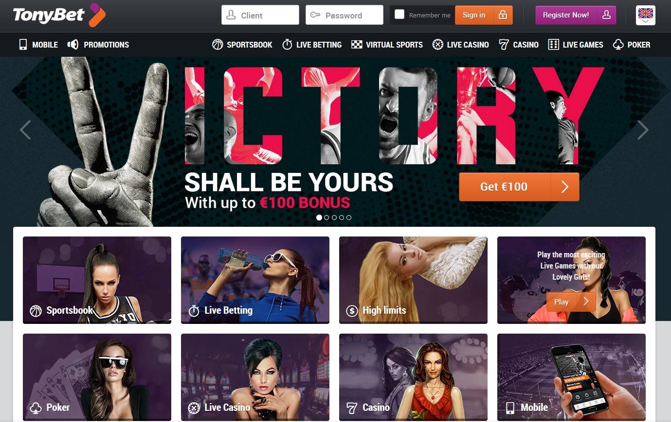 screenshot-of-tonybet-homepage
